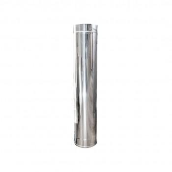 Tubo de acero inoxidable 25cm
